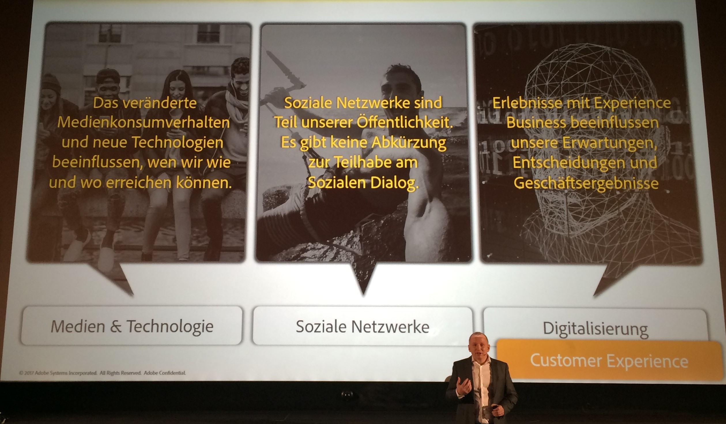 Hartmut König von Adobe über die 3 Trends 2017: Medien & Technologie, Soziale Netzwerke und Digitalisierung