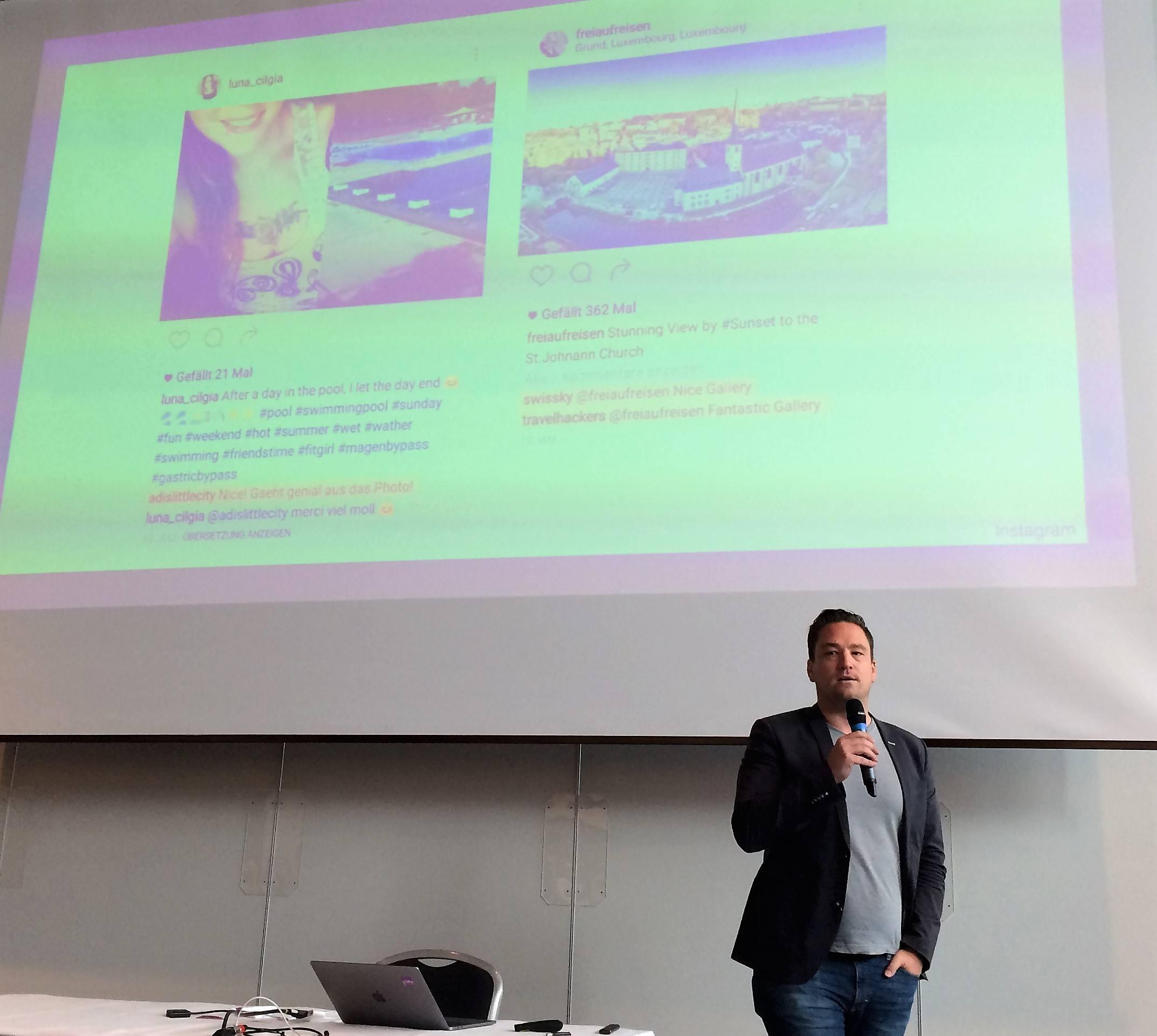 Bots im Einsatz für Influencer? Renato Mitra am Internet-Briefing 2017