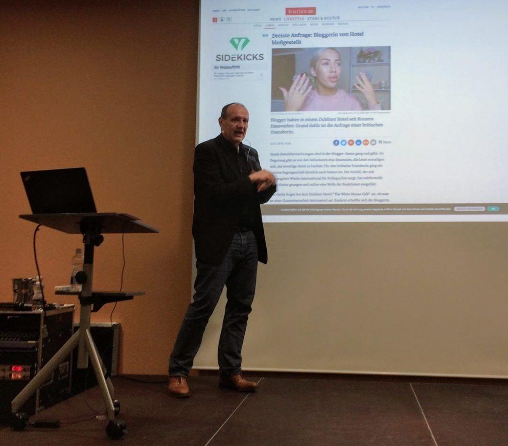 Peter Hogenkamp über YouTuberin Elle Darby