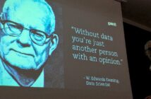 Without data your just another person with an opinion