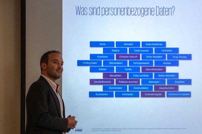 Daniel Seiler über personenbezogene Daten im Sinne der DSGVO