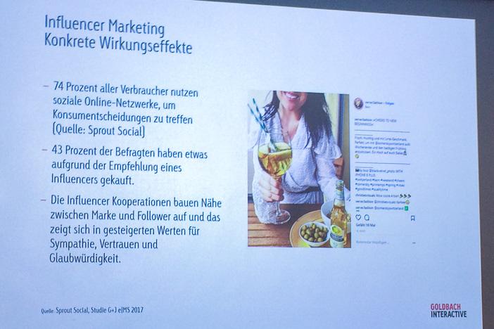 Influencer Marketing mit Verve Fashion gemäss Marleen Albert von Goldbach Interactive