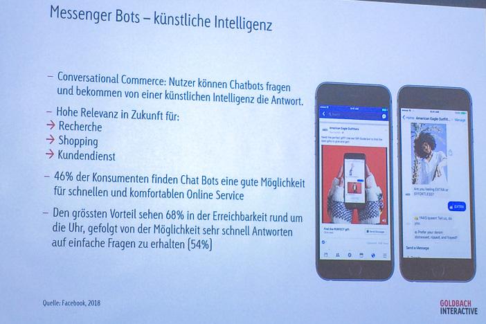 Messenger Bots mit künstlicher Intelligenz