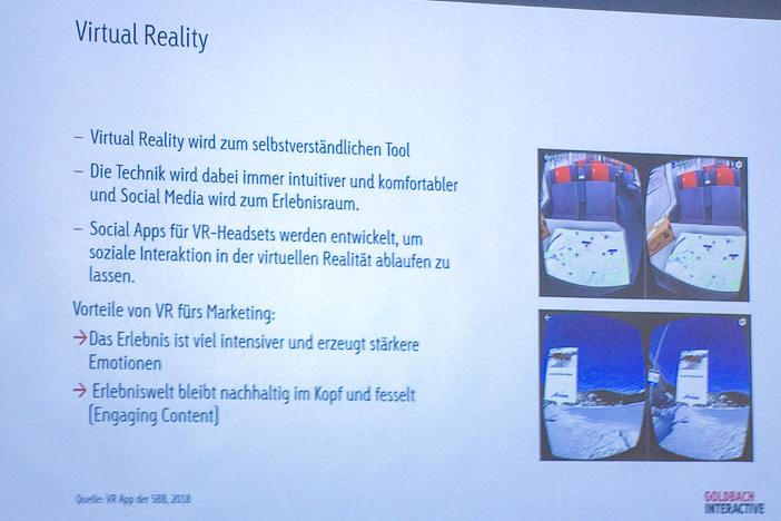 Virtual Reality wird Mainstream
