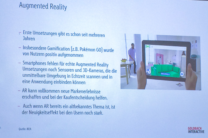 Augmented Reality bei Ikea