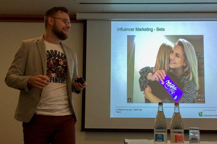 Martin Faltl über plattes Influencer Marketing bei Milka